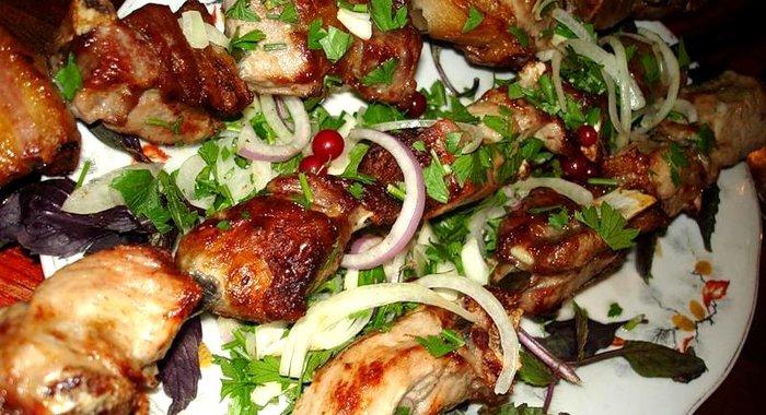 Шашлык кавказски рецепт с фото
