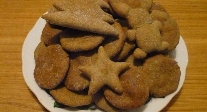 Рецепт ржаная мука печенье
