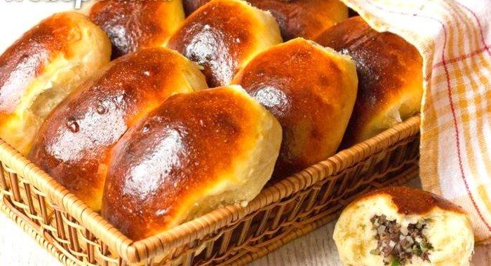 Испечь пирожки в духовке быстро