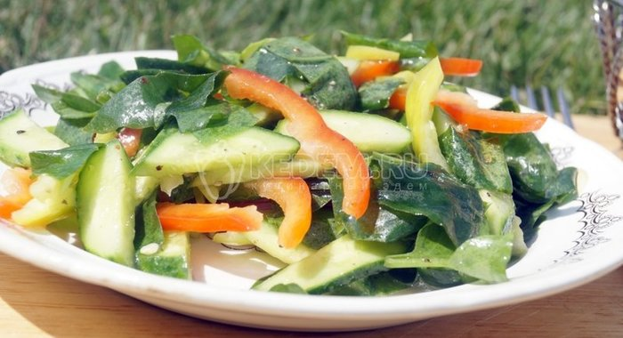 Кулинарные рецепты с фотографиями овощьные салаты