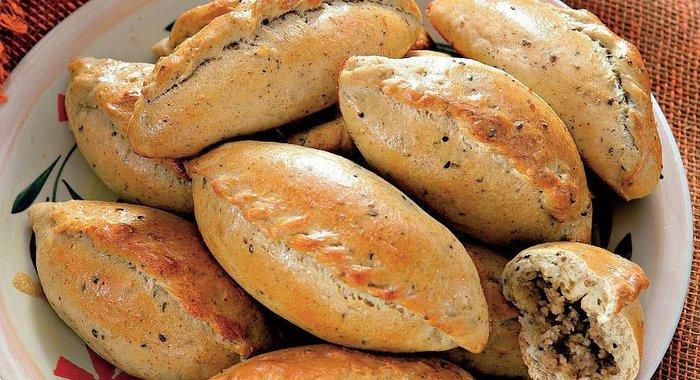 Рецепт пирожков с мясом пошаговый рецепт с