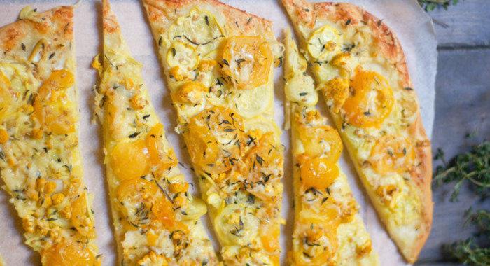 Рецепт овощной пиццы пошагово