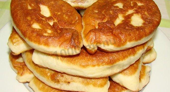 Тесто для жареных пирожков дрожжевое пошагово с