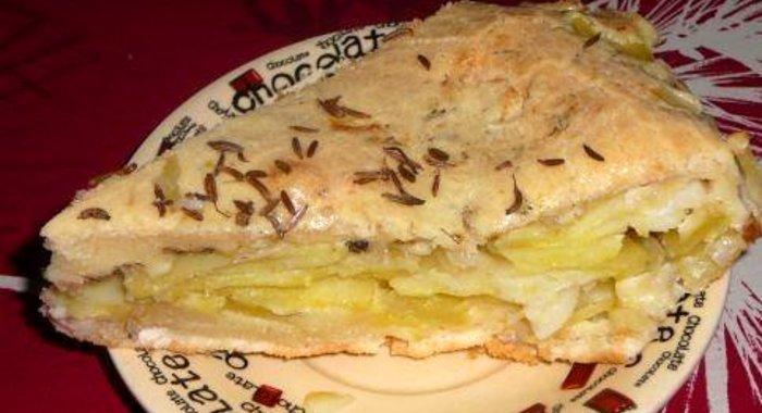 Пирог рыбный на жидком тесте рецепт в духовке