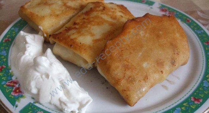 Рецепт блинов с начинкой пошаговое
