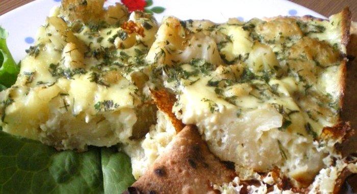 рецепт запеченной картошки с цветной капустой в духовке
