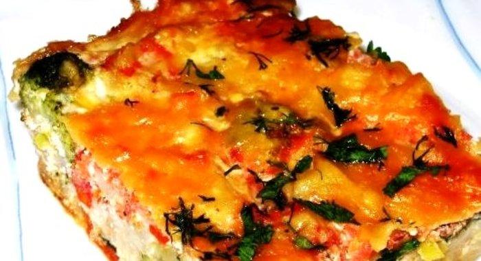 Цветная капуста с овощами в духовке рецепт с пошагово