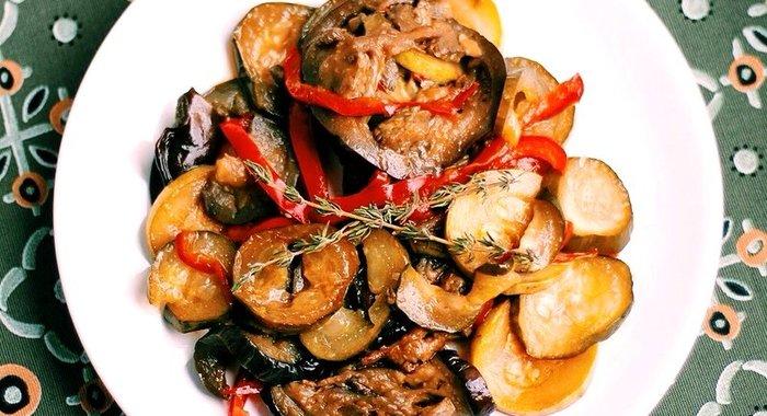 Соте рецепт из овощей пошагово