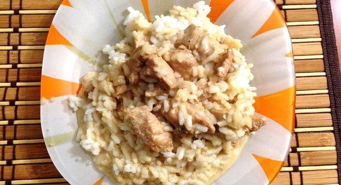 Курица с рисом рецепт с фото пошагово
