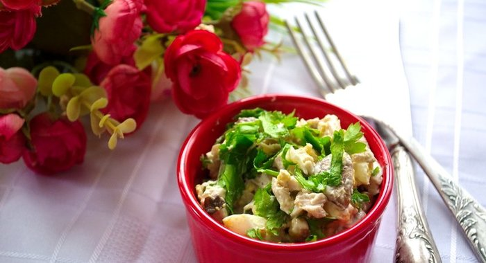 рецепты простые оригинальные салаты