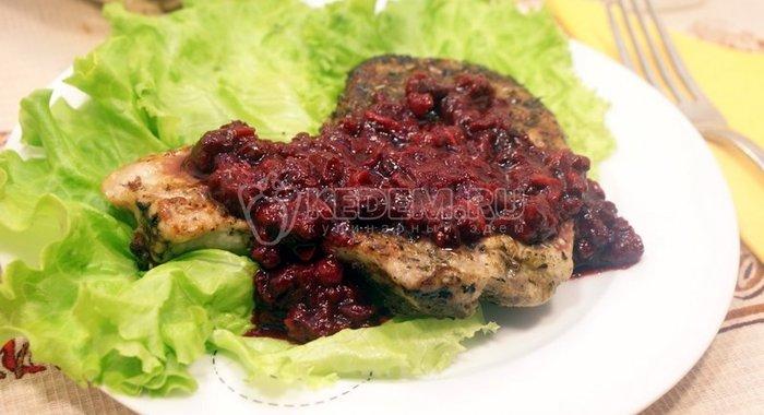 Стейк свиной на сковороде рецепт пошагово