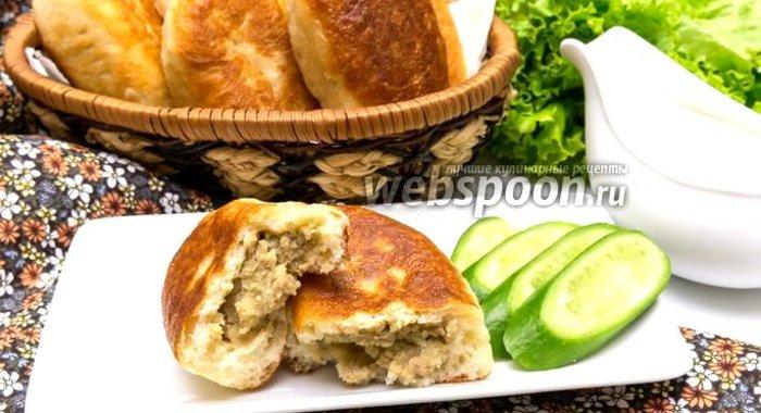 Пирожки с печенью и картошкой рецепт пошагово с