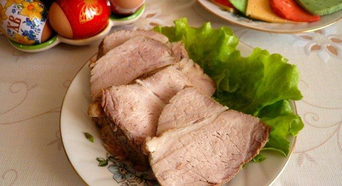 Блюда из вареной свинины рецепты с фото