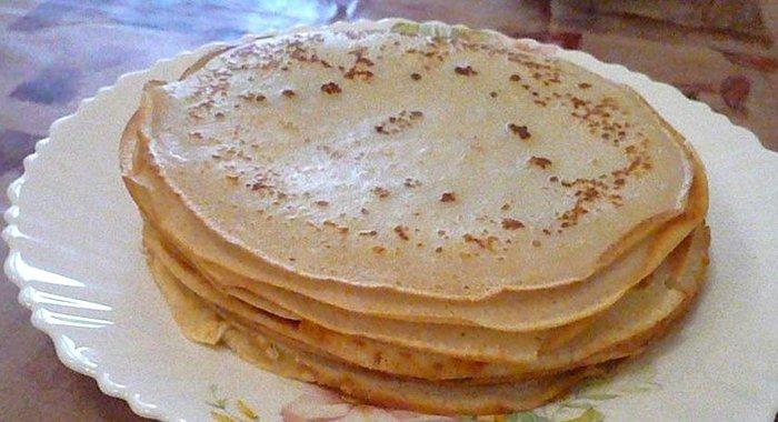 Блины на кислом молоке рецепт пошагово с дырочками и содой