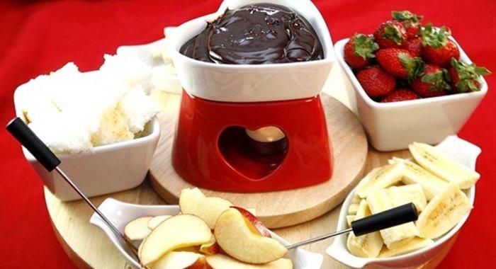 шоколадное фондю рецепты с фото-хв1