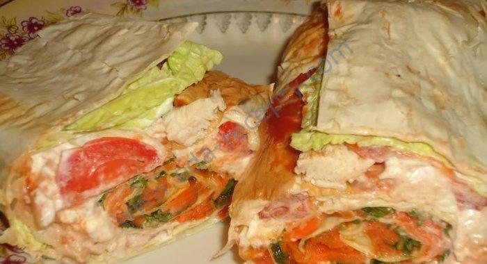 Смотреть рецепты из лаваша
