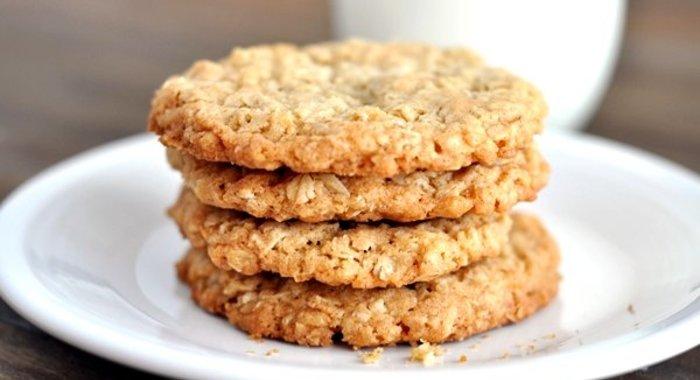 Диетическое овсяное печенье - 10 рецептов с фото