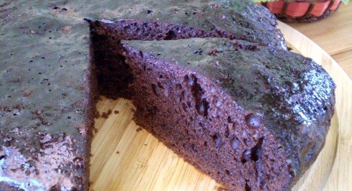 Нежный шоколадный бисквит рецепт с фото