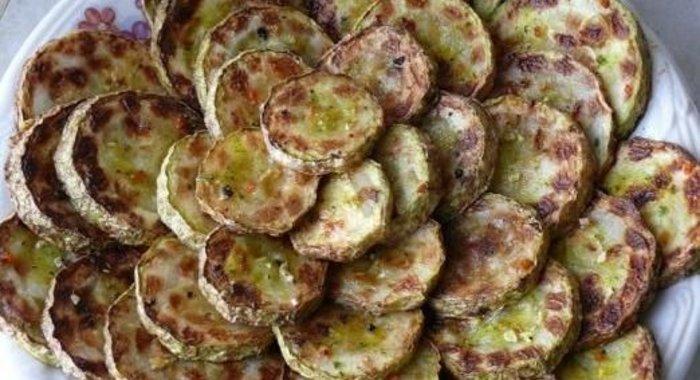 Жареные кабачки рецепт пошаговый с фото