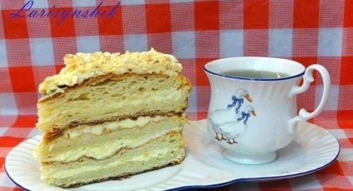 Рецепт простого торта наполеон пошагово