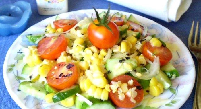 Салаты с курицей и помидорами черри рецепты с