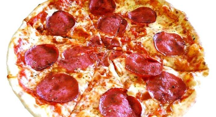 рецепт приготовления пиццы с колбасой в духовке