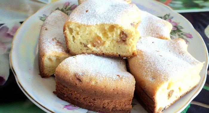 Творожный кекс в духовке простой