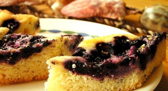 Пирог с черничным джемом в мультиварке рецепты с фото