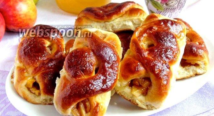 Пирожки с яблоками в духовке пошаговый рецепт с фото с дрожж
