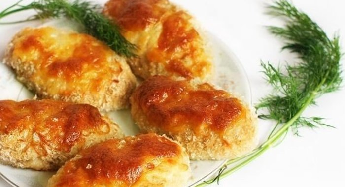 куриный фарш рецепты с фото в духовке