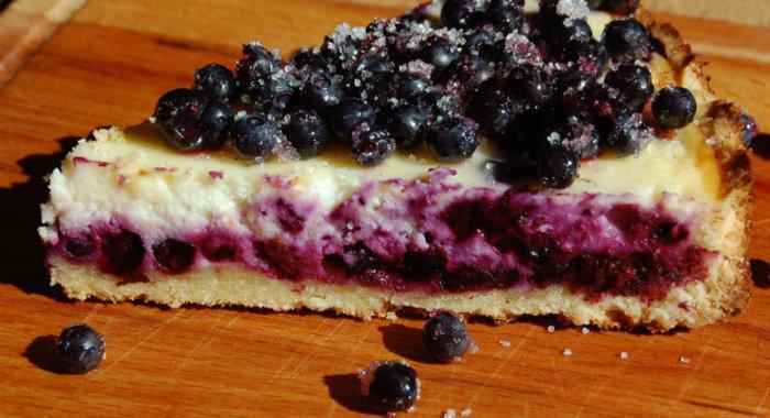 Рецепты пирогов в домашних условиях черника
