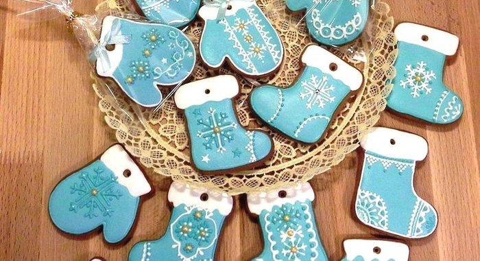 Печенье с глазурью рецепт с фото пошагово