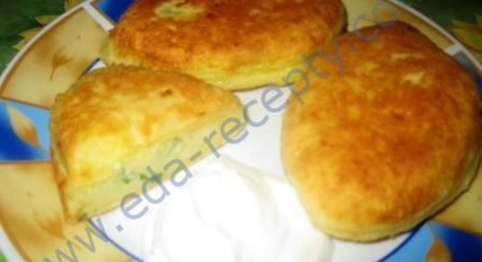 Пирожки на сковороде рецепт с фото пошаговый