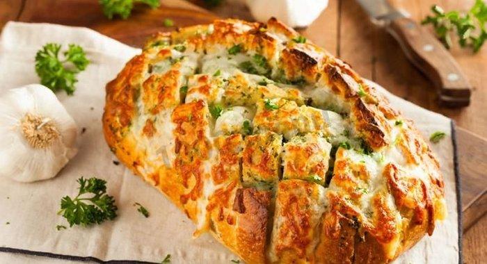 Батон с сыром и чесноком рецепт с пошагово