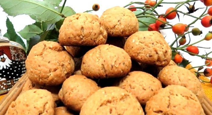 Рецепт овсяного печенья с медом с фото
