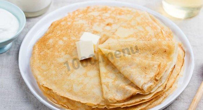 Блины на прокисшем молоке рецепт пошагово без яиц