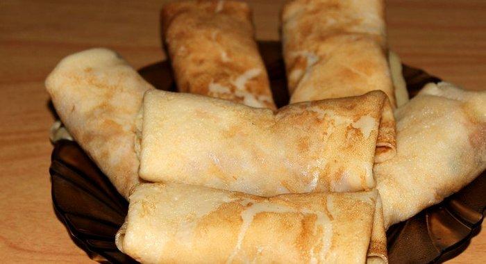 Вкусные блинчики с мясом с фото пошагово