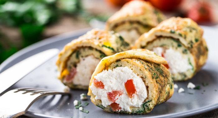 Блюда со сливочным сыром рецепты