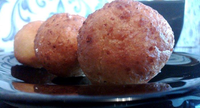 Пошаговый рецепт творожных пончиков