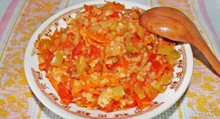 рис с рыбой в духовке с овощами рецепт