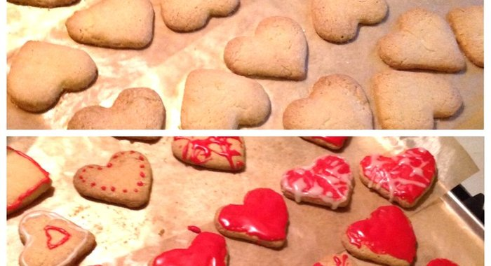 Рецепт песочного печенья с глазурью пошагово