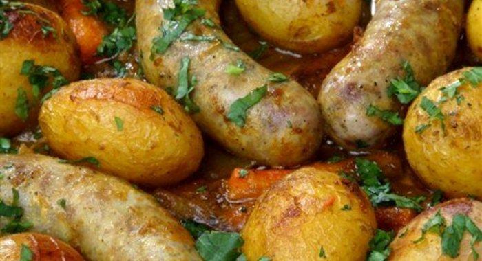 Печеный картофель в духовке пошаговый рецепт с
