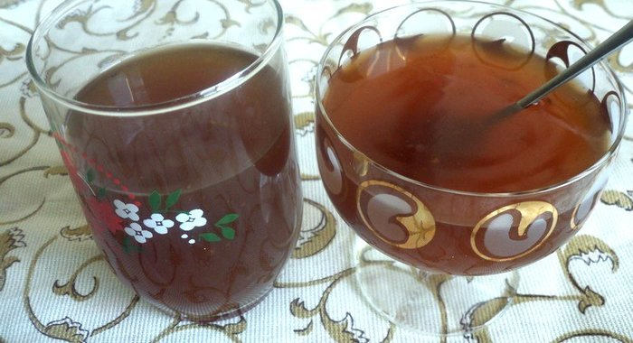 Рецепт киселя с сухофруктами