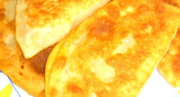 Чебуреки с тыквой рецепт с фото