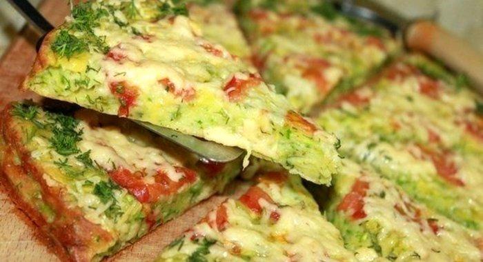 Пицца на кабачках рецепт пошагово