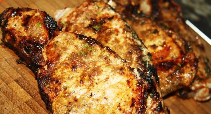 Приготовить стейк из свинины пошагово с