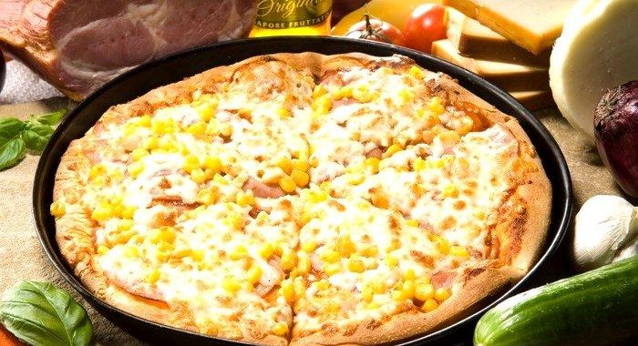 Рецепты пиццы с кукурузой