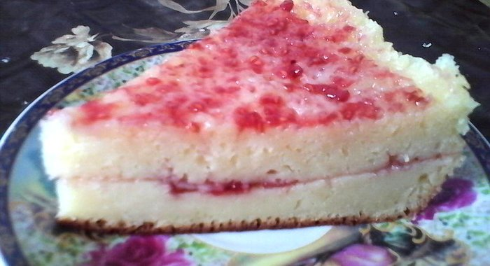 Пирог с малиной в мультиварке рецепты на скорую руку