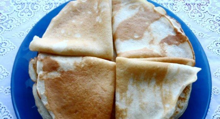 Блины простой рецепт с фото пошагово