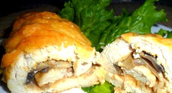 Куриные рулетики с сыром рецепт пошагово